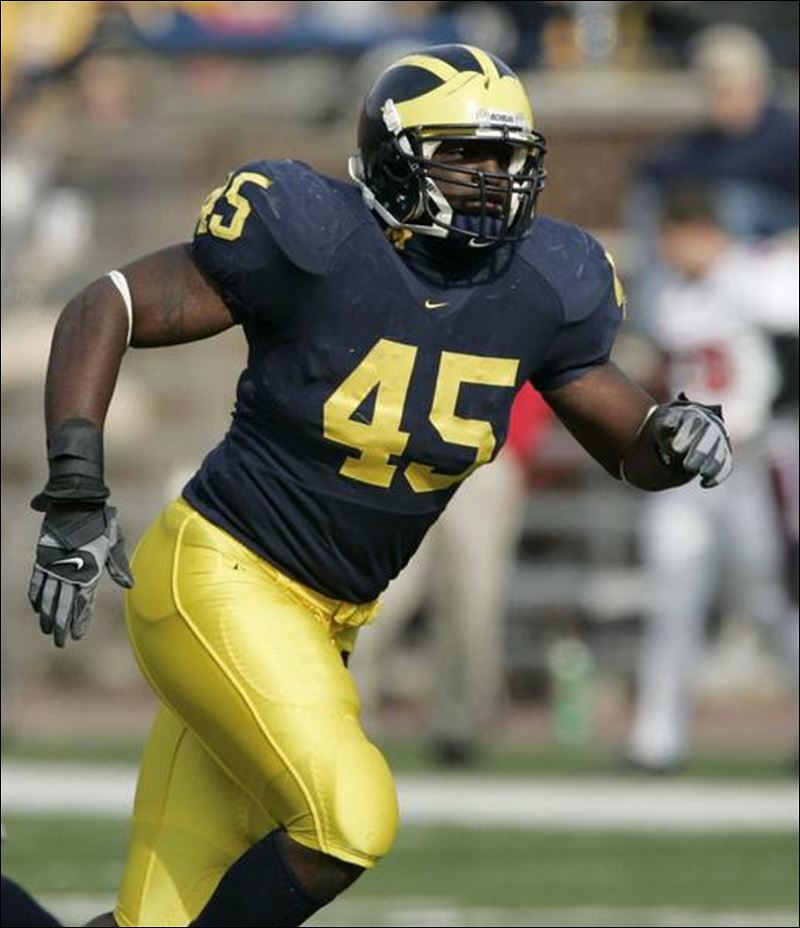 Image result for david harris michigan lb