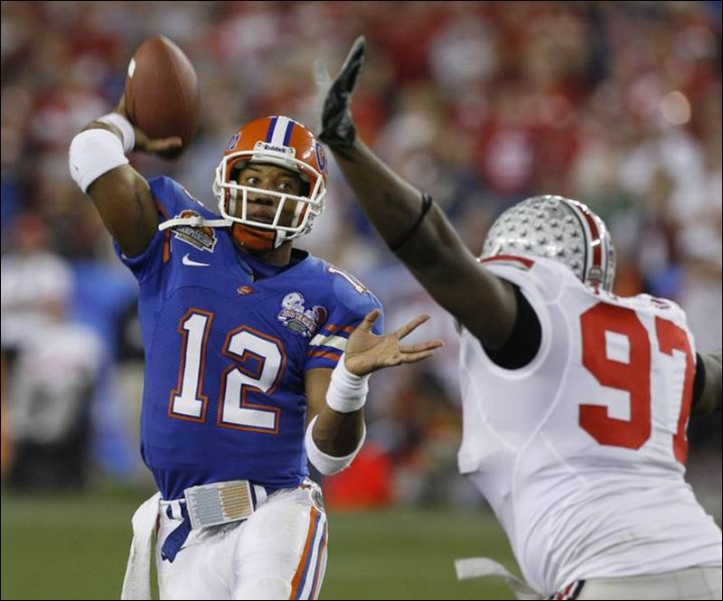 Florida jump started the SEC dynasty, at the expense of the Big Ten (photo:  Toledo Blade)