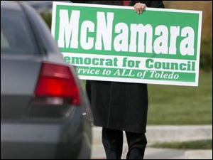 Joe McNamara spent more than $90,000 to win a special at-large council election in the fall.