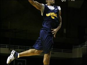 A new addition to the Rockets may be a dunking specialist, but not long ago he was U.S. Army Specialist Quentin Patin.