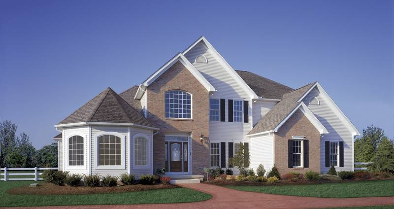 Our featured home of the week the blade for Schumacher homes house plans