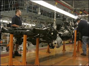 Hyundai Mobis runs the factory that produces chassis at the North Toledo complex.