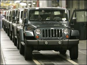Four-door Unlimiteds now make up 82 percent of Wrangler production; initial expectations were for 60 percent.