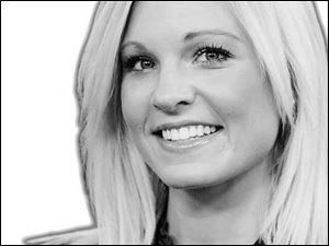 WNWO-TV morning anchor and reporter Anna Kooiman.