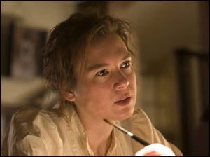 Renee Zellweger as Beatrix Potter in Miss Potter.