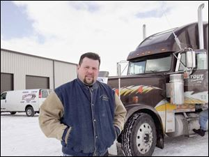 Anthony St. Bernard of Flatout Trucking Ltd. wants to open a tractor-trailer repair facility along I-75 by the end of March.