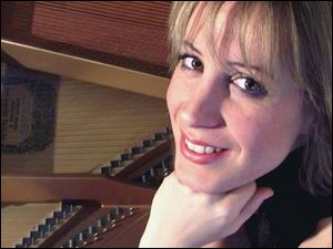Ingrid Fliter performs with the Toledo Symphony in Classics VI concerts at 8 p.m. tomorrow and Saturday in the Toledo Museum of Art Peristyle, 2445 Monroe