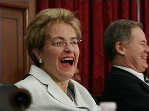 Rep. Marcy Kaptur (D., Toledo), with 24 years in Congress, says serving on the defense panel ultimately will aid her district.