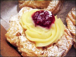 The zeppole is a traditional St. Joseph's Day pastry.