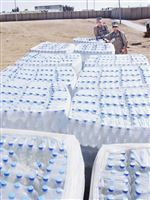 Thirsty-Marines-awash-in-heaping-supply-of-bottled-water