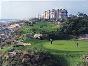 The most popular of the four golf courses at Amelia Island Plantation is Ocean Links.