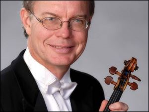 Concertmaster Kirk Toth will