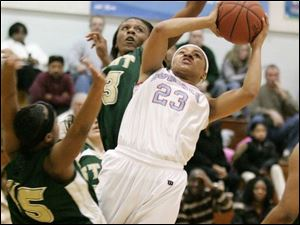 Stephany Johnson was a four-year starter at Bowsher