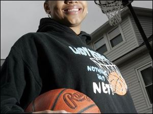 Stephany Johnson overcame plenty to achieve great numbers on the court and in the classroom. The senior guardforward