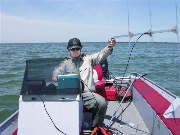 Radio equipped fish helping researchers the blade for Sandusky bay fishing