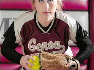 Shana Szypka had a 61-4 career mark including a 20-2 mark this season when she allowed just seven earned runs. Szypka, who led Genoa to the state tournament last year, will play at the University of Toledo.