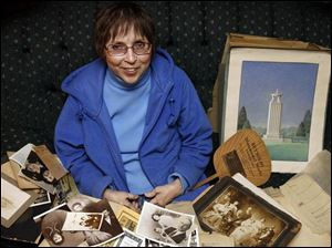 For nearly 20 years, Christine Zywocki has been archiving the tens of thousands of monument