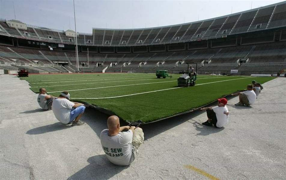 OSU-BGSU-trade-grass-for-artificial-surfaces
