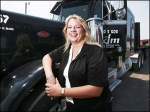 Stacy Wise started a steel-hauling trucking firm, purchasing seven trucks with loans from the city of Toledo and a bank.