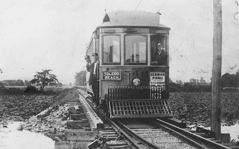 Old Railroad Cars Colubus Ohio