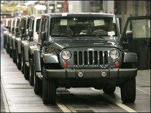 Wrangler Production at the Toledo Jeep plant