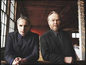 Donald Fagen, left, and Walter Becker.