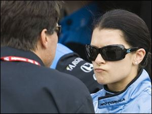 Driver Danica Patrick can offer strong opinions at times. She