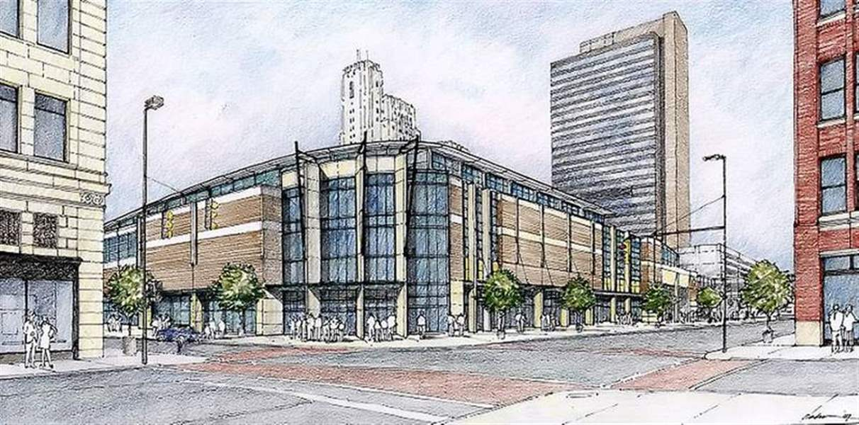 Drawings-reveal-arena-design-public-input-sought-on-85M-project-for-downtown-Toledo