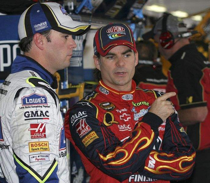 Hendrick-garage-is-star-filled