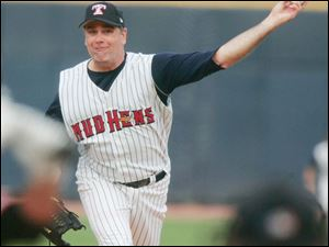 Kenny Rogers rehabbed briefly with the Mud Hens. He was a Tigers mainstay last season in their World Series run.
