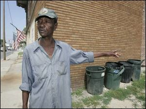William McNeil on Nebraska does garbage duty for two houses but says he s unconcerned over skipping trash pickup.