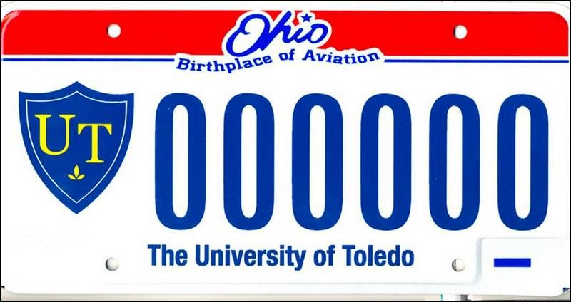 New Vanity Plates Give Backers Of Ut A Choice Toledo Blade