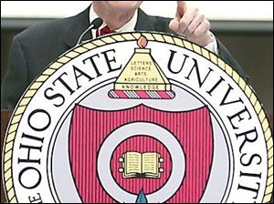 E. Gordon Gee says, 'I am home,' as Ohio State's 14th president. Mr. Gee was the school's 11th president from 1990 to 1997.