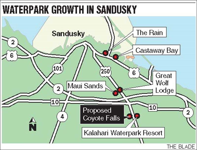 Sandusky area becomes hub of splash resorts - Toledo Blade