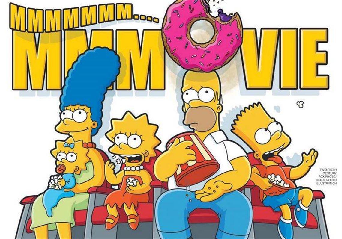 Movie Review The Simpsons Movie The Blade