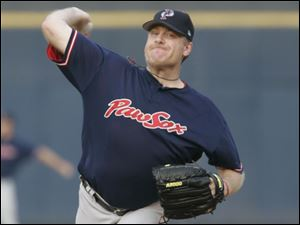 Curt Schilling made it look easy in his second rehab start for Pawtucket, holding the Mud Hens scoreless for five innings.