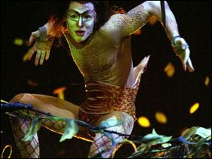 A character in KA, a Cirque de Soleil production at the MGM