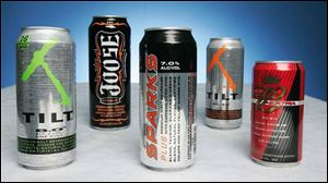 Energy drinks containing alcohol raise concerns on several levels among local authorities.