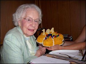 Elizabeth Zepf turns 104, but the birthday gal gets feted at not one, but a half dozen special parties for this tireless community activist.