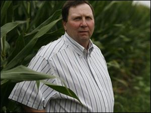 Jerry Tedrow will get $167,000 for 117 acres of his farm near Delta, but he's sure his land will stay farmland forever.