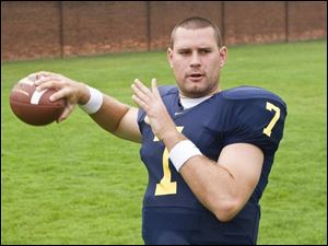 Michigan quarterback Chad Henne is looking forward to his senior season, his fourth year as the starter.