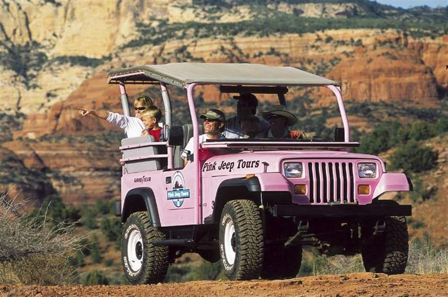 Pink jeep tours in sedona discount coupons