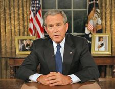 Bush-rejects-calls-to-end-war-but-wants-gradual-U-S-troop-pullouts