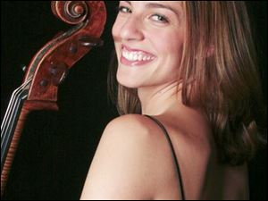 Julie Albers plays here this