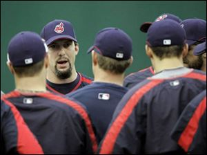Trot Nixon, one of the Indians recognized as being a clubhouse