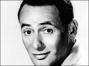** FILE ** Comedian Joey Bishop shown in an Oct. 23, 1963 file photo. Joey Bishop has died at his home Wednesday Oct. 17, 2007, in Newport Beach, Calif.  Bishop found success in night clubs, television and movies but became most famous as a member of Frank Sinatra's boisterous Rat Pack. He was 89. (AP Photo/File)
