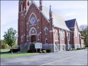 St. Mary Catholic Church, founded in 1846, was closed in July by Bishop Leonard Blair.
