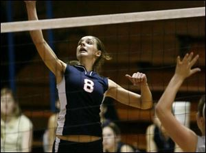 Lakota's Cami Wasserman holds school records for kills, serving aces and digs. The 5-9 senior has 433 kills this season and more than 1,200 in her career.