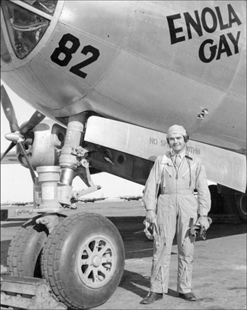 bomber the Enola Gay in