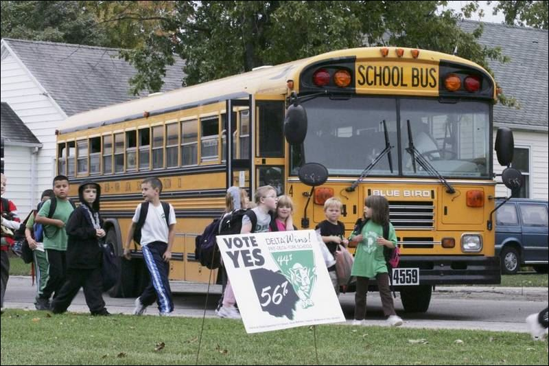 Delta School District: Money Requested For Building Expenses